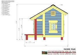 home garden plans dh303 dog house plans dog house design