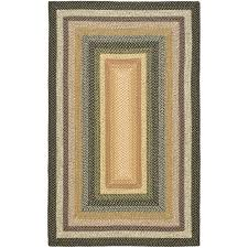 Multi Color Rug Safavieh Hand Woven Indoor Outdoor Reversible Multicolor Braided
