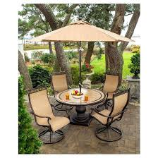 patio table umbrella ingenious patio furniture sets with umbrella