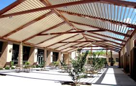 Pergola System by Louvered Roof For Pergola Roofing Decoration