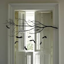 Twig Tree Home Decorating Awesome Halloween Decorating Ideas Indoor With Black Dry Tree