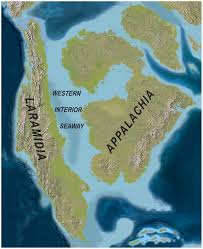 Future Map Of America by File North America Late Cretaceous 75mya Western Interoir