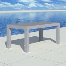 der beton tisch gartentisch esstisch betonmöbel indoor outdoor