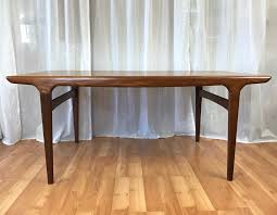 extendable teak dining table johannes andersen for uldum extendable walnut teak dining table