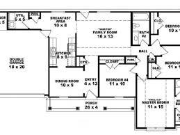 4 bedroom 4 bath house plans 4 bedroom cottage house plans house plans