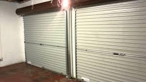 Overhead Roll Up Garage Doors Steel Roll Up Garage Door Automated 10 X 7 With Windows 8