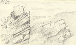 jackie sullivan sketch blog sketchbook red rocks
