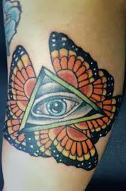 monarch seraphim eye of providence by madson at harlequin tattoo