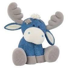 carte blanche blue nose friends the moose 10 cm