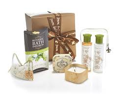 mint infused bath gift set pura botanica