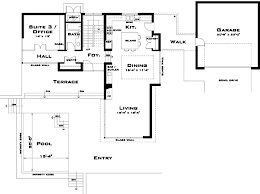 contemporary floor plans for homes modern style house plans plan 39 137