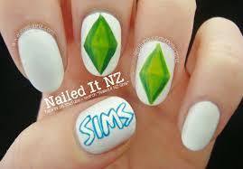 nailed it nz the sims nail art tutorial
