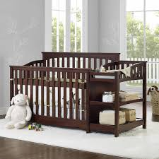 Dark Wood Cribs Convertible by Baby Relax Crib And Changer Dresser Combo Creative Ideas Of Baby