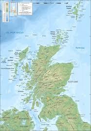 Amazon Maps Map Of Scotland Maps And Books On Scotland