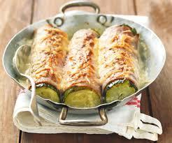 cuisiner de la courgette courgettes gratinées au jambon un plat succulent