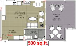 500 sq ft 1 bhk 1t apartment for sale in pruthvi group mumbai