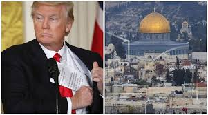 donald trump israel us president donald trump officially recognises jerusalem as