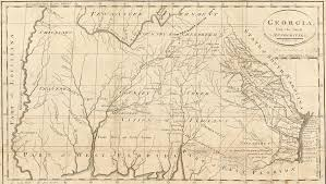 Native American Map Alliances Created Division Among The Native Americans Of Alabama