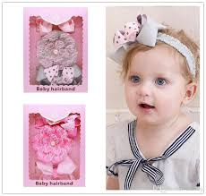 lace headbands baby headbands set bow lace headbands box pack baby dot