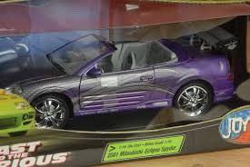 mitsubishi car 2001 fast u0026 furious 2001 mitsubishi eclipse spyder 1 18 joyride ebay
