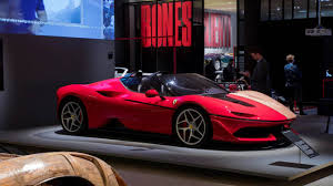 purple laferrari ferrari under the spotlight at new design museum exhibition