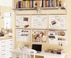 modern office room design with pottery barn office desk spaced