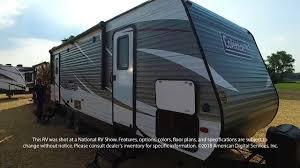 coleman travel trailers floor plans dutchmen coleman lantern conventional east 245rk youtube