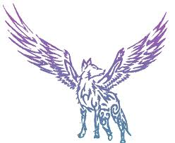 faded wings name of wolf by bellaidldrowned on deviantart