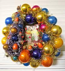 dime store chic u2014 vintage autumn light up owls halloween wreath