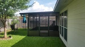 spring tx screened enclosures all weather aluminum inc