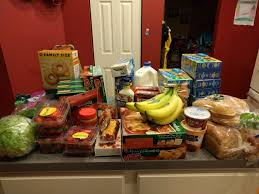 grocery budget for five frugal stepping stones