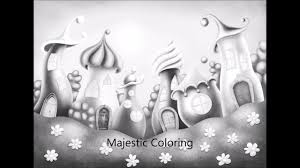 fantasy world grayscale photo coloring book for adults youtube