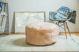 ottomans pouffes and footstools round ottoman slipcovers floor