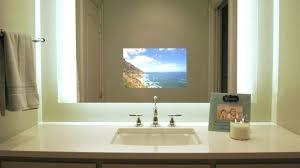 tv in a mirror bathroom tv mirror bathroom stroymarket info