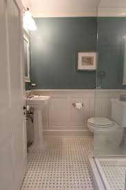 bathroom with wainscoting ideas artistic master bathroom design decisions tile vs wood wainscoting