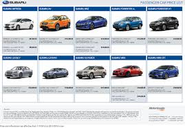 cars with price singapore motorshow 2016 subaru price list deals promotions and