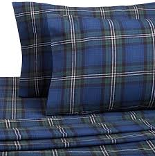 amazon com pinzon plaid flannel sheet set full blackwatch