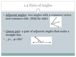 adjacent vertical complementary and supplementary angles ppt