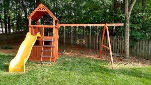 square based playhouses wooden swing sets raleigh charlotte nc