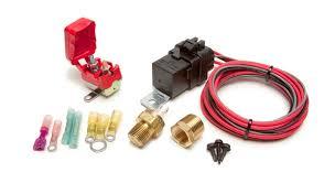 fan relay switch weatherproof fan relay kit w thermostatic switch 195f on 185f