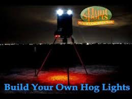 hog hunting lights for feeder wild boar hog hunting led night hunting feeder light plan kits