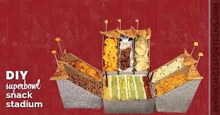 Super Bowl Decorating Ideas Super Bowl Snack Stadium Diy Projects For Teens