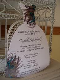 Menaka Invitation Cards Peacock Bridal Shower Invitations Best Shower