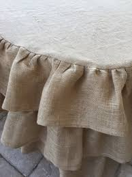 48 Round Tablecloth Ruffled Round Burlap Tablecloth Tutorial Purple Chocolat Home