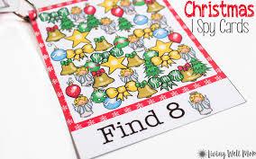 free printable christmas cards no download christmas printable ispy cards