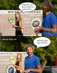 Tennis Memes - memes of beach tennis star btrussia
