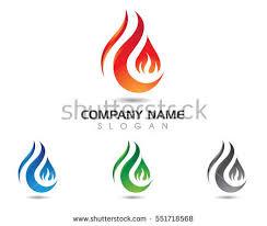 fire flame logo template imagem vetorial de banco 553282138