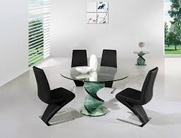 4 chair dining table set modern glass dining table room and chairs thedigitalhandshake