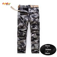 army pattern fleece men s camouflage fleece safari style army cargo pants new casual