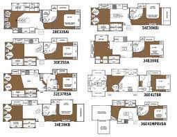 365 Best Small House Plans by Fifth Wheel Camper Floor Plans Awesome Heartland Rv Landmark 365